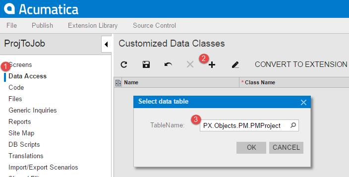 Changing Field Labels in Acumatica