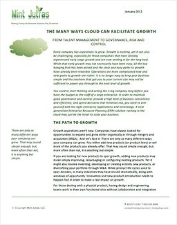 Cloud Enables Growth
