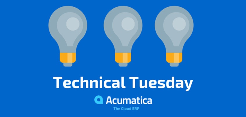 Acumaticas-Technical-Tuesday