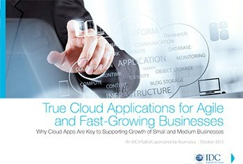 True Cloud Applications for Agile and Fast-Growing Businesses
