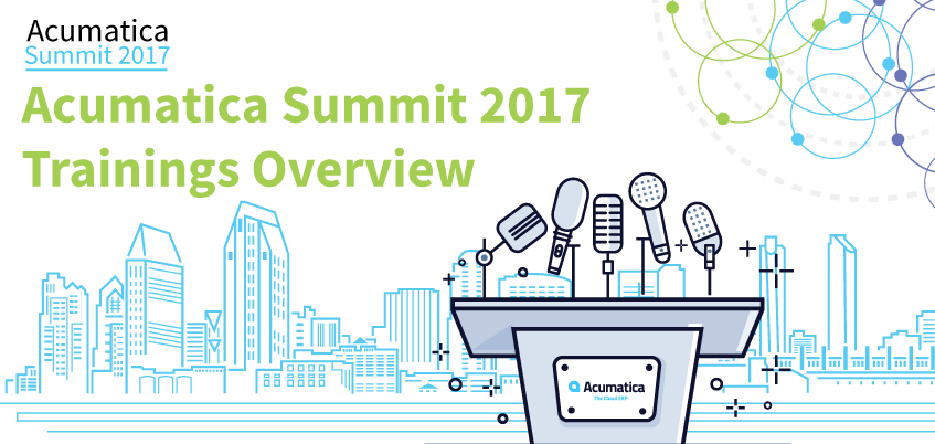 Acumatica Summit 2017 Trainings Overview