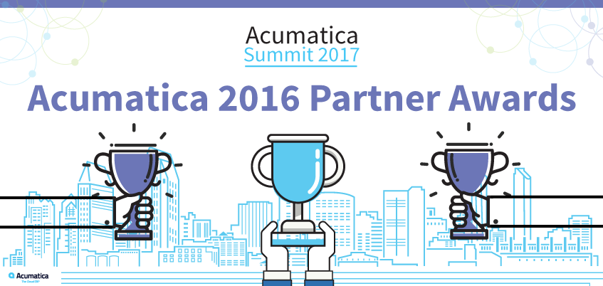 Acumatica 2016 Partner Awards