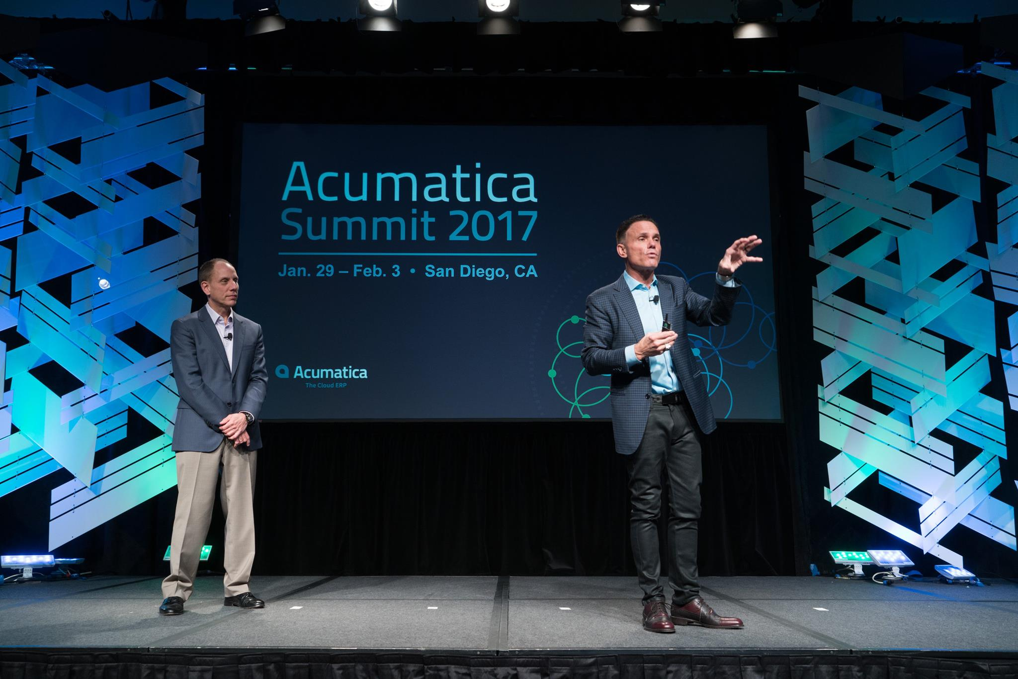 Acumatica CEO Jon Roskill and Kevin Harrington