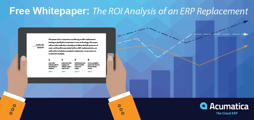 ERP cost savings, benefits & ROI