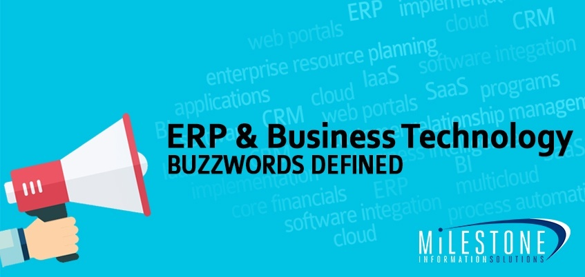 ERP & Business Technology Buzzwords Defined