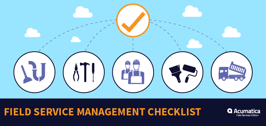 Field Service Businesses: Free Field Service Management Software Checklist