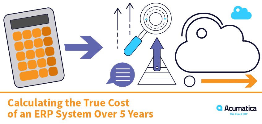 ERP System Cost: Calculating the True Cost of an ERP System Over 5 years