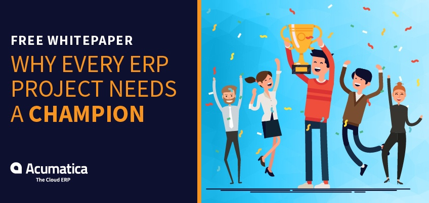 Free Whitepaper: Why Every ERP Project Needs a Champion