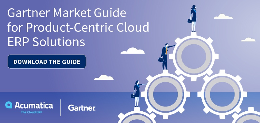 Gartner Market Guide for Product-Centric Cloud ERP Solutions