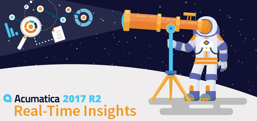 Acumatica 2017 R2: Real-Time Insights
