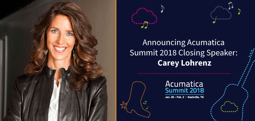 Announcing Acumatica Summit 2018 Closing Speaker Carey Lohrenz
