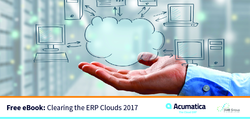 Free eBook: Clearing the ERP Clouds 2017 by SMB Group