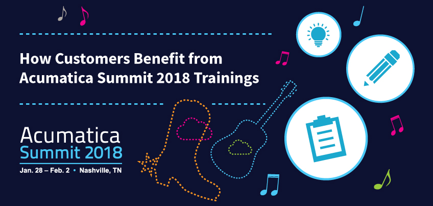 How Customers Benefit from Acumatica Summit 2018 Trainings