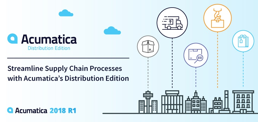 Streamline Supply Chain Processes with Acumatica's Distribution Edition