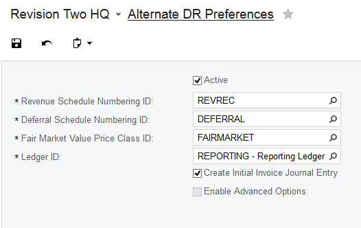Alternate DR Preferences