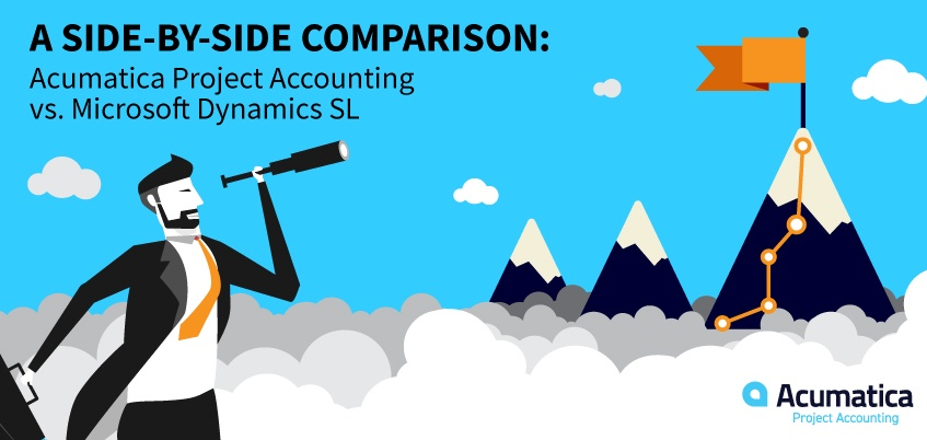 A Side-by-Side Comparison: Acumatica Project Accounting vs. Microsoft Dynamics SL
