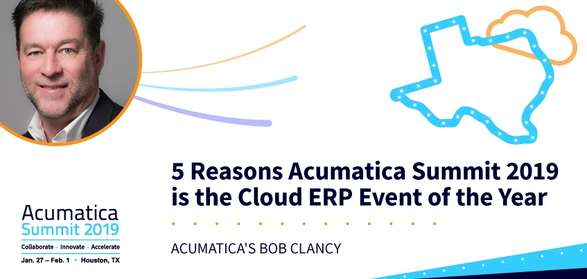 5 Reasons Acumatica Summit 2019 is the Cloud ERP Event of the Year