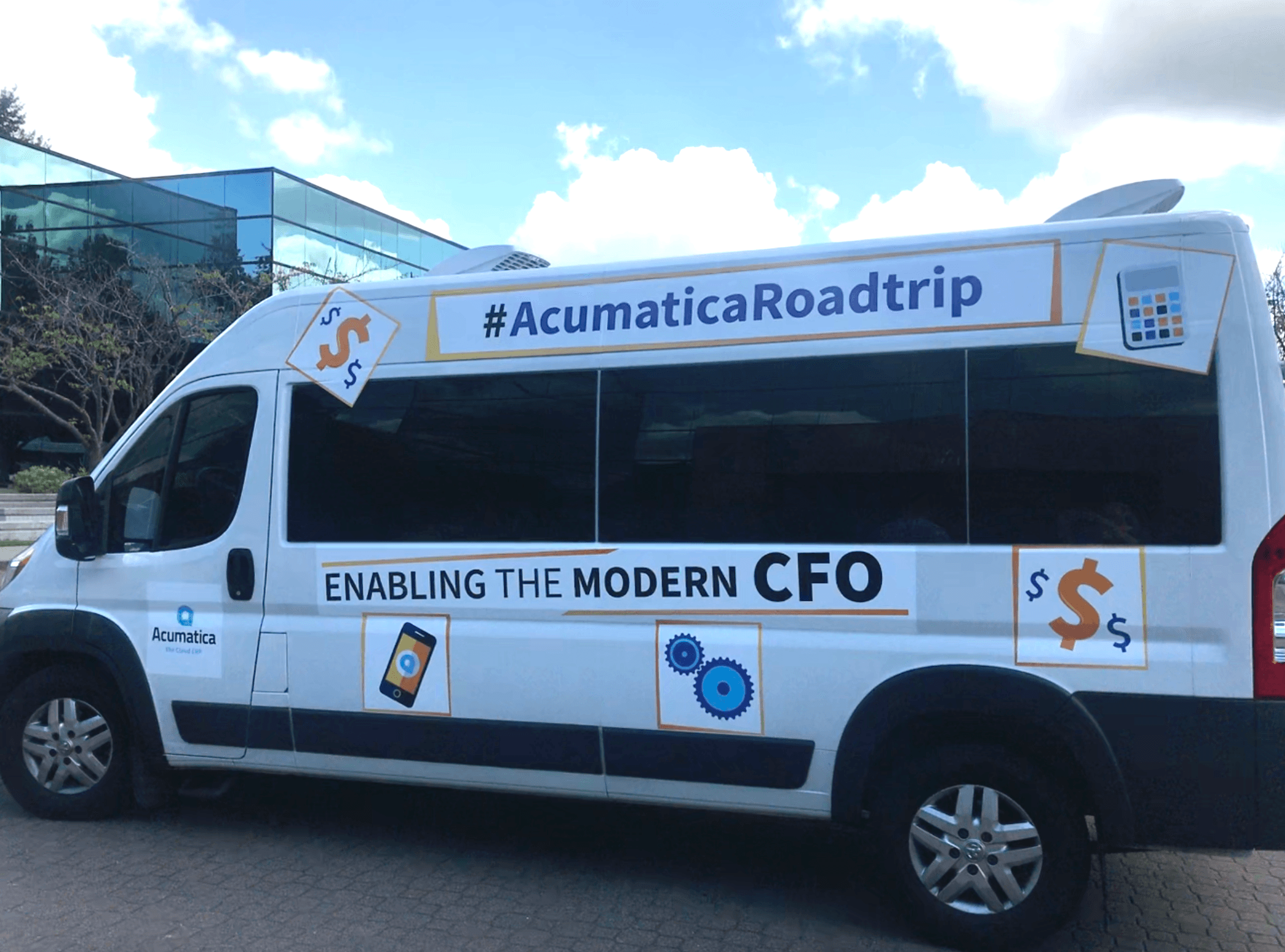 Acumatica Roadtrip Van