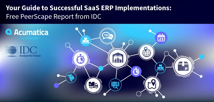 Your Guide to Successful SaaS ERP Implementations: Free PeerScape Report from IDC