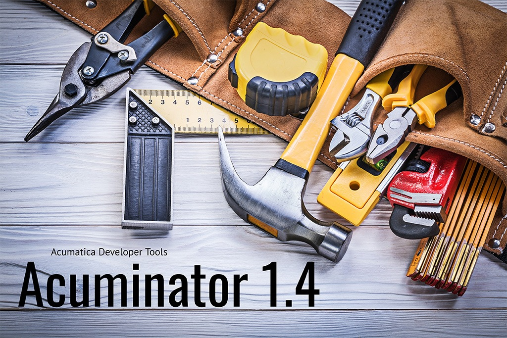 New Release Available: Acuminator 1.4 Visual Studio Extension