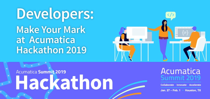 Make Your Mark at Acumatica Hackathon 2019