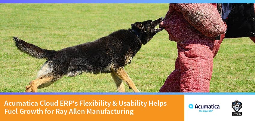 Acumatica Cloud ERP's Flexibility & Usability Helps Fuel Growth for Ray Allen Manufacturing