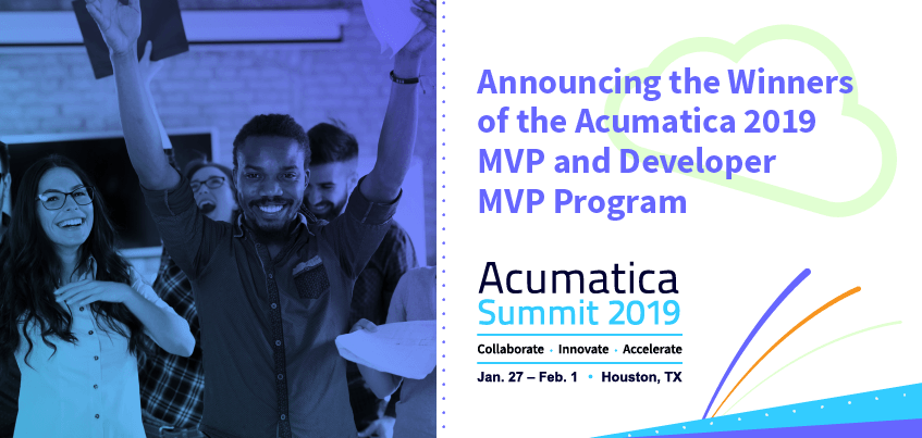 Announcing the Winners of the Acumatica 2019 MVP and Developer MVP Program