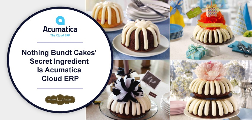 Nothing Bundt Cakes' Secret Ingredient Is Acumatica Cloud ERP