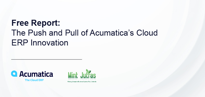 The Push and Pull of Acumatica's Cloud ERP Innovation