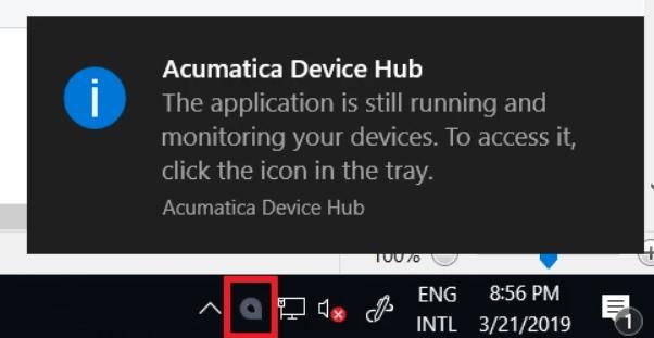 Configuration of the Device Hub | Acumatica Cloud ERP