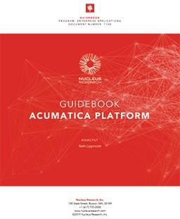 Guidebook Acumatica Platform