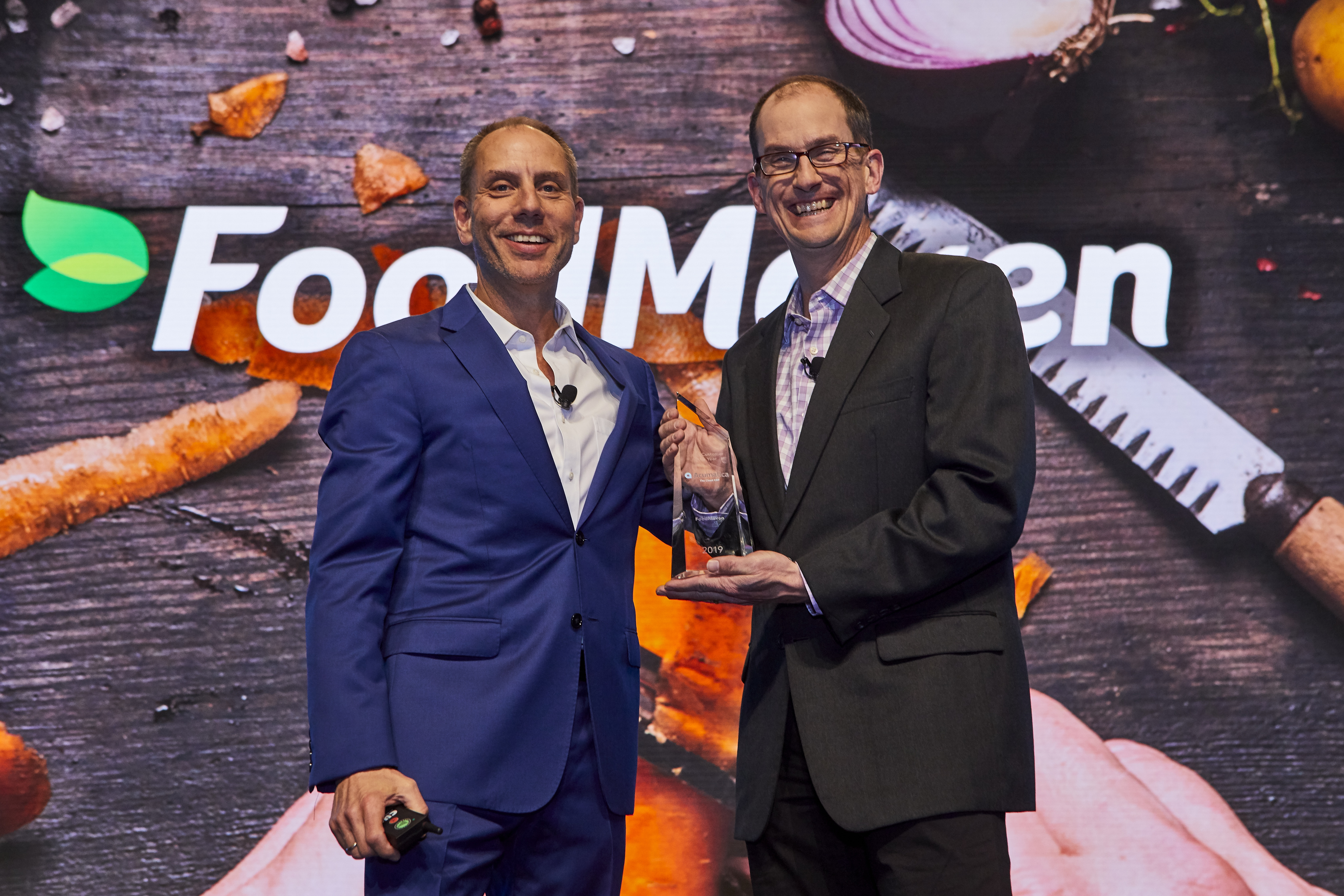 CEO Jon Roskill and Food Maven, Acumatica's Impact Customer of the Year
