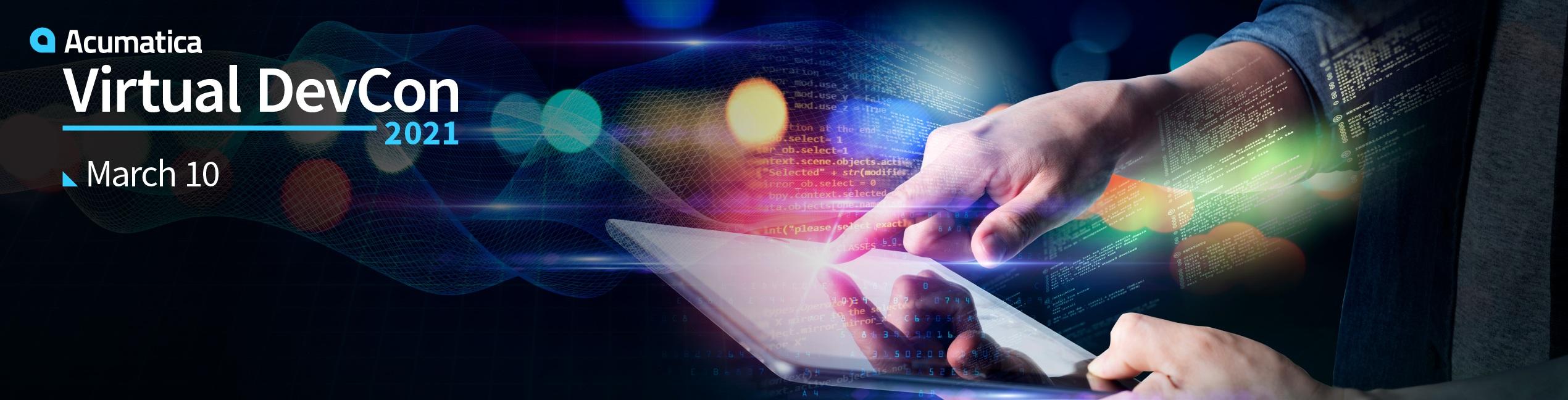 Acumatica Virtual Developer Conference 2021